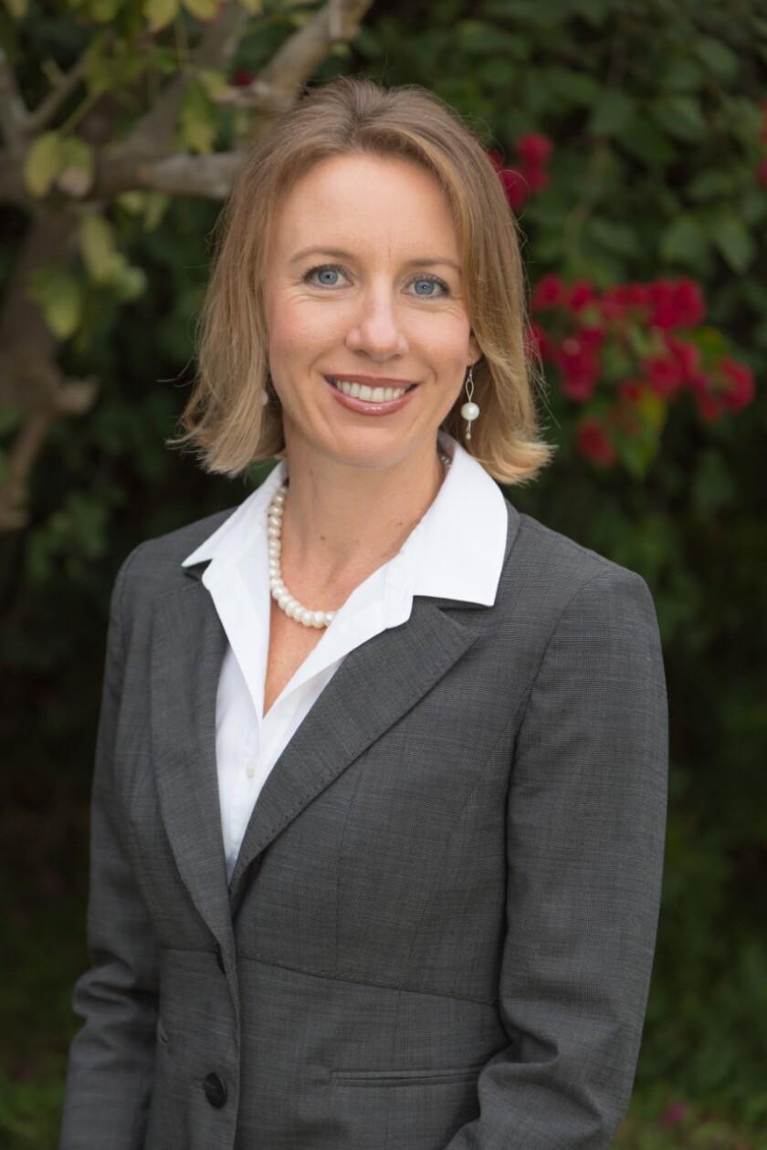 Encinitas Mayor Catherine Blakespear