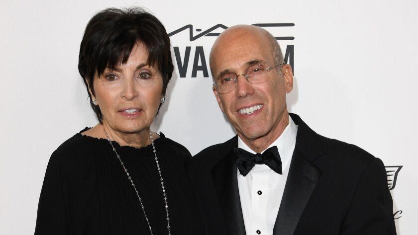 Marilyn Katzenberg, left, and honoree Jeffrey Katzenberg.