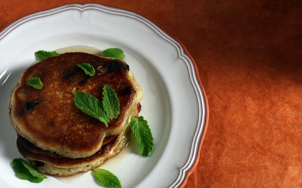 Olive oil pancakes