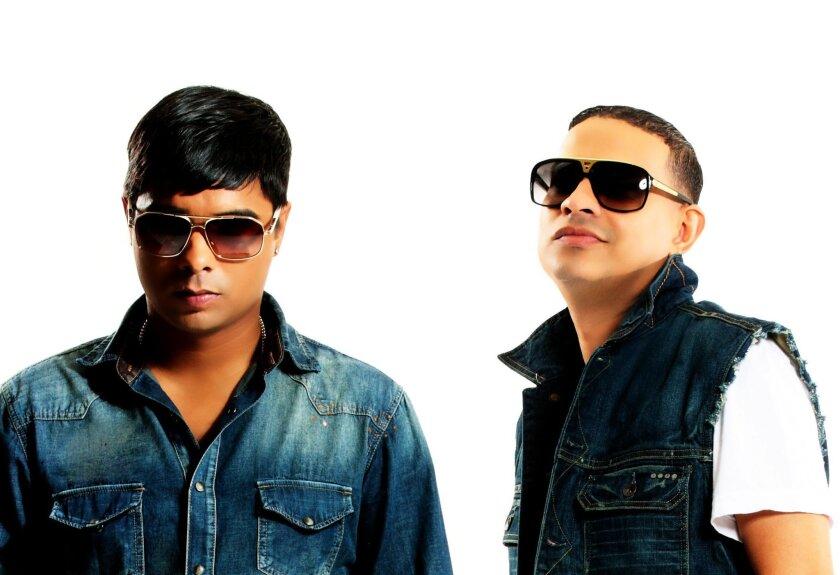 Fotografía promocional cedida en donde aparecen Chencho y Maldy, integrantes del dúo puertorriqueño de reguetón Plan B. EFE/Pina Records