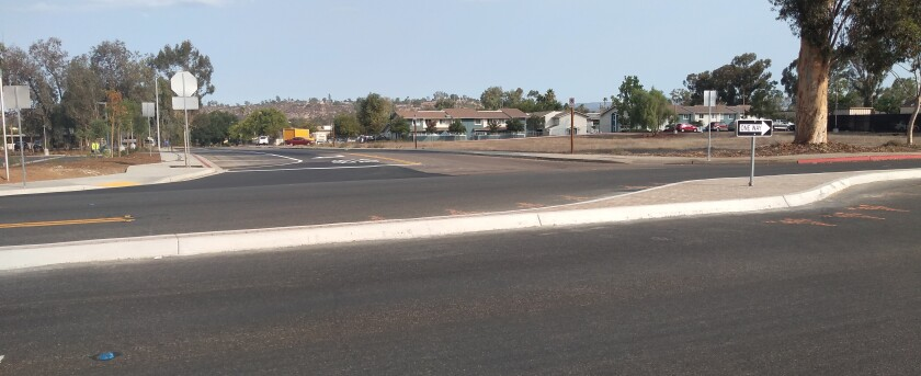 A new median recently installed at 16th and Main streets is affecting traffic flow in the area.
