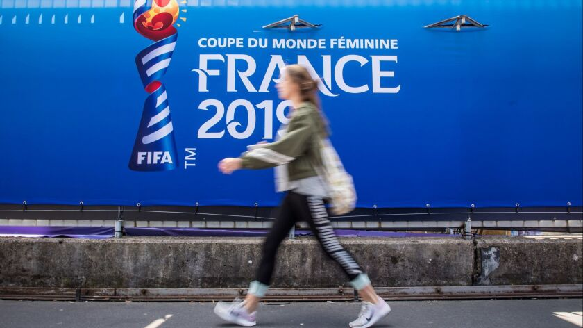 FIFA Women's World Cup 2019, Paris, France - 06 Jun 2019
