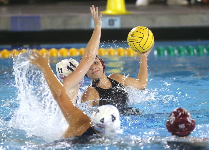 Photo Gallery: Laguna Beach vs. Corona del Mar in girls' water polo