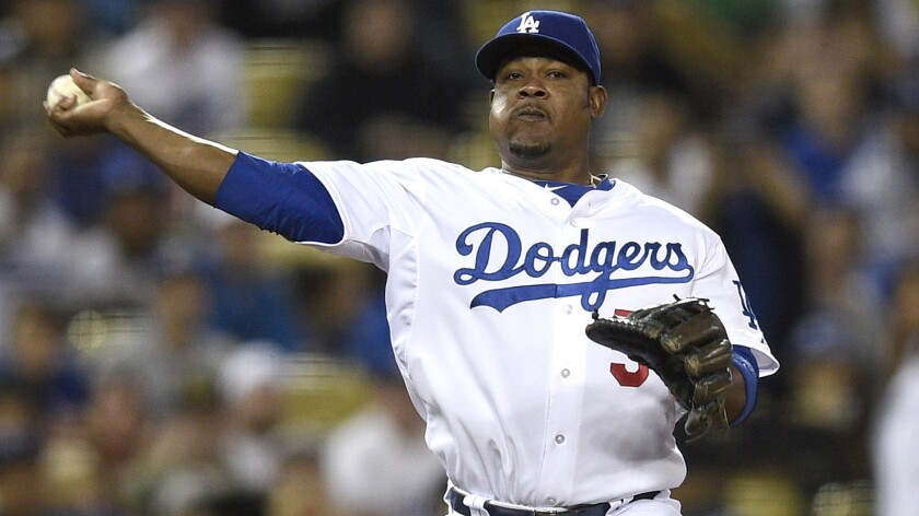 Dodgers third baseman Juan Uribe has not played since straining his right hamstring Thursday.