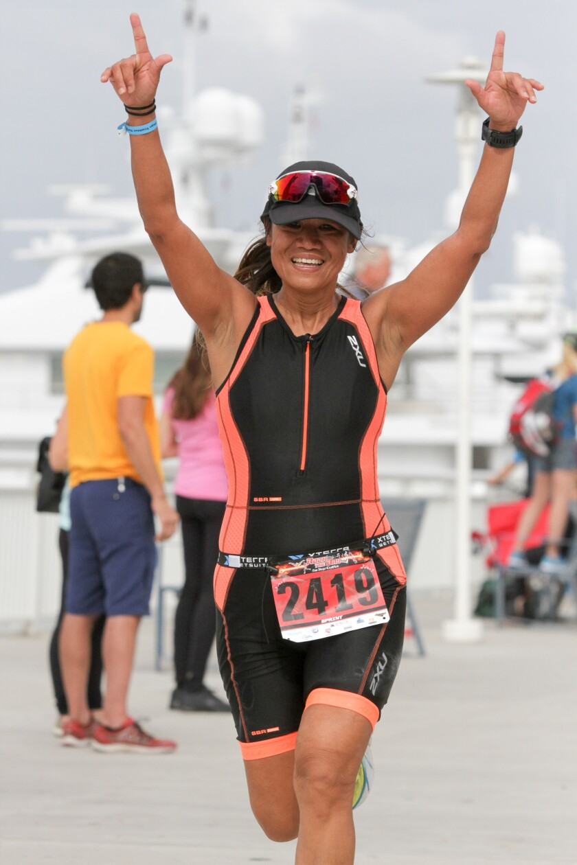 A photo of Rock the Bay Triathlon