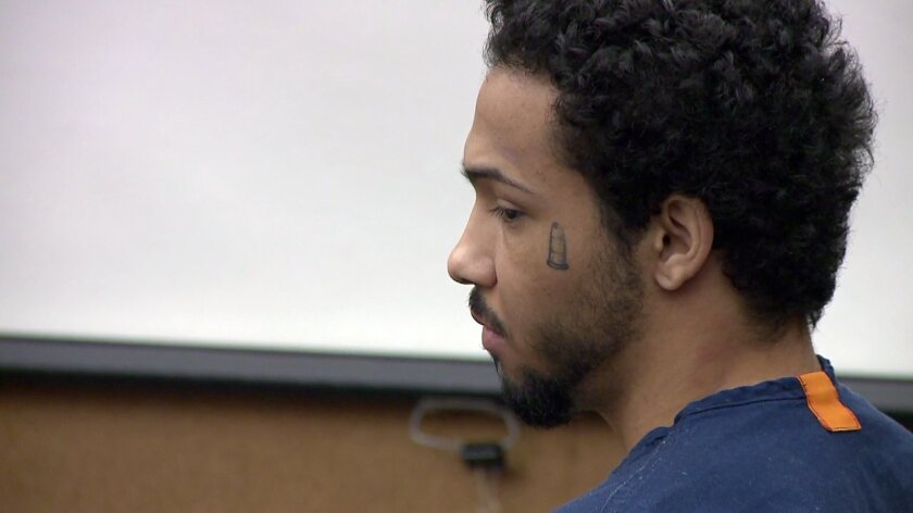 Kurese Bell was convicted of murder, attempted murder and other crimes related to two armed robberies in San Diego neighborhoods in April 2014.