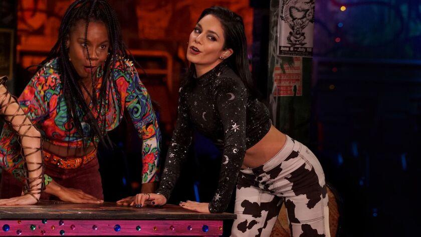 RENT: Vanessa Hudgens (R) in RENT airing Sunday, Jan. 27 (8:00-11:00 PM ET LIVE/PT TAPE-DELAYED) on