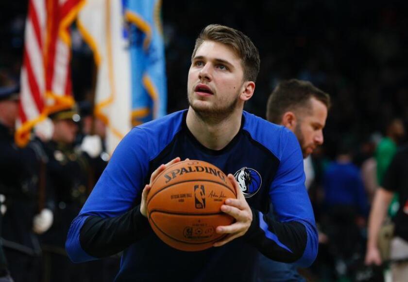 El jugador de los Mavericks de Dallas Luka Doncic. EFE/Archivo