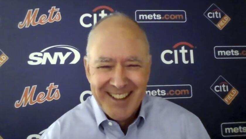 El presidente de los Mets de Nueva York, Sandy Alderson
