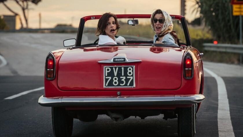 "Micaela Ramazzotti, left, and Valeria Bruni Tedeschi in the film ""Like Crazy."""
