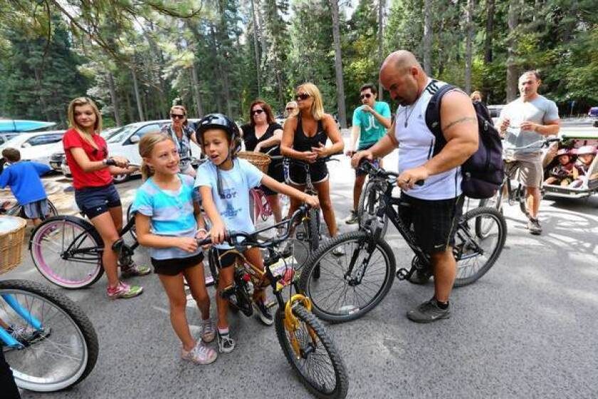 Yosemite plan calls for more campsites and parking spaces