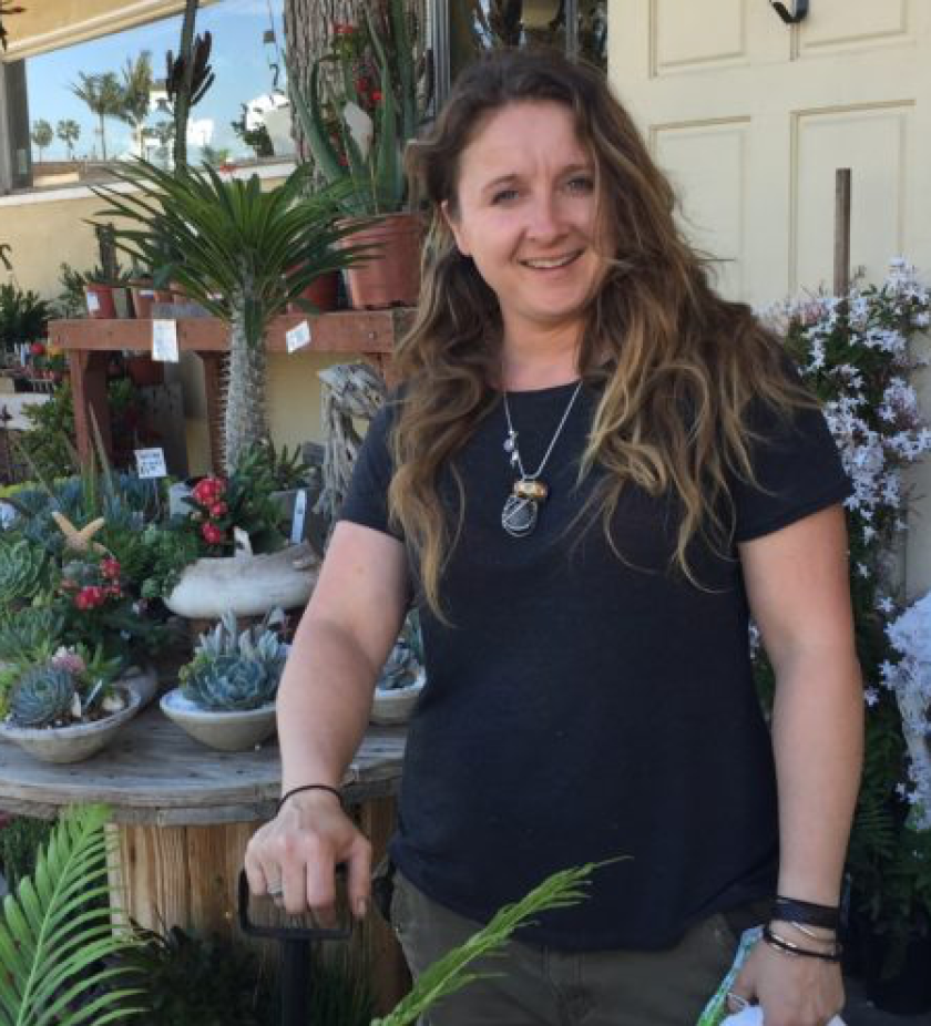 Chrissy Mack from Green Gardens Nursery in Pacific Beach will be guest speaker at the La Jolla Garden Club meeting, 1-3 p.m. Tuesday, April 18, 2017 at the La Jolla Woman's Club, 7791 Draper Ave.