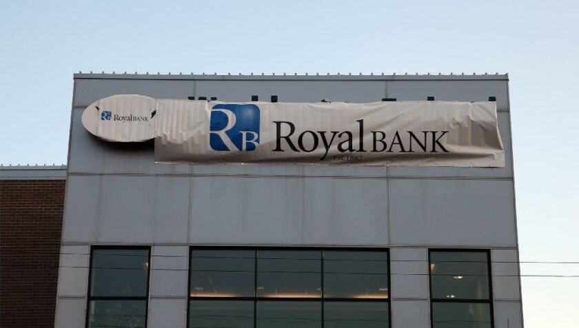 The former Washington Federal Bank for Savings on South Archer Avenue in Chicago is seen Dec. 28, 2017, bearing the name of its new owner, Royal Savings Bank. The Federal Deposit Insurance Corp. is looking into the collapse of Washington Federal.