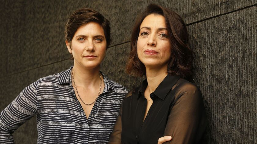 """Moira Demos, left, and Laura Ricciardi are the filmmakers behind Netflix's unexpected 2015 hit, """"Making a Murderer."""""""