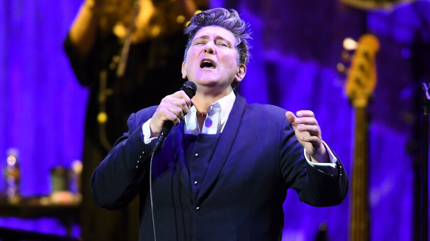 K.D. Lang performs Monday night at the Theatre at Ace Hotel.