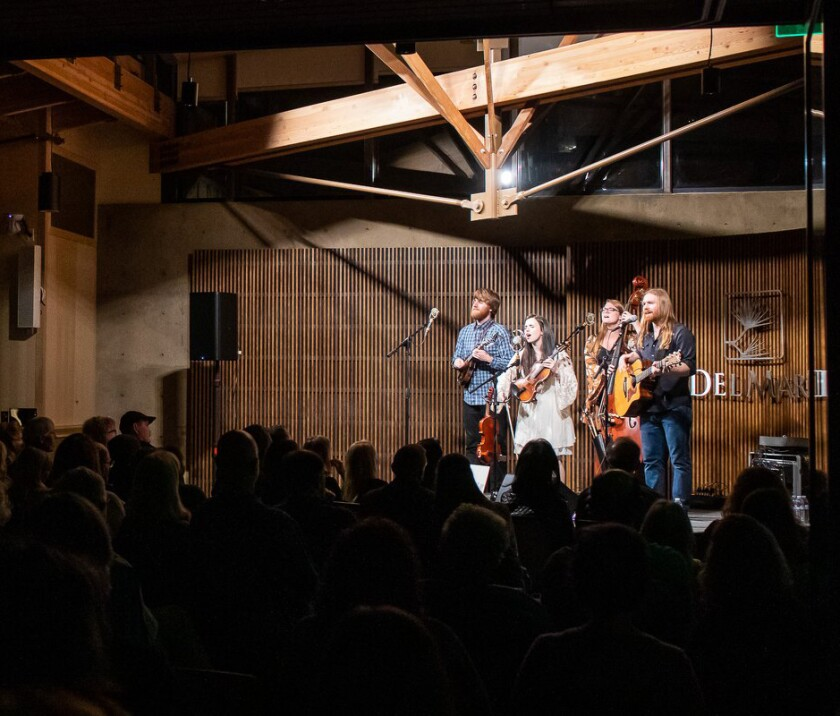First Thursdays performances are held the first Thursday of each month from September through June.