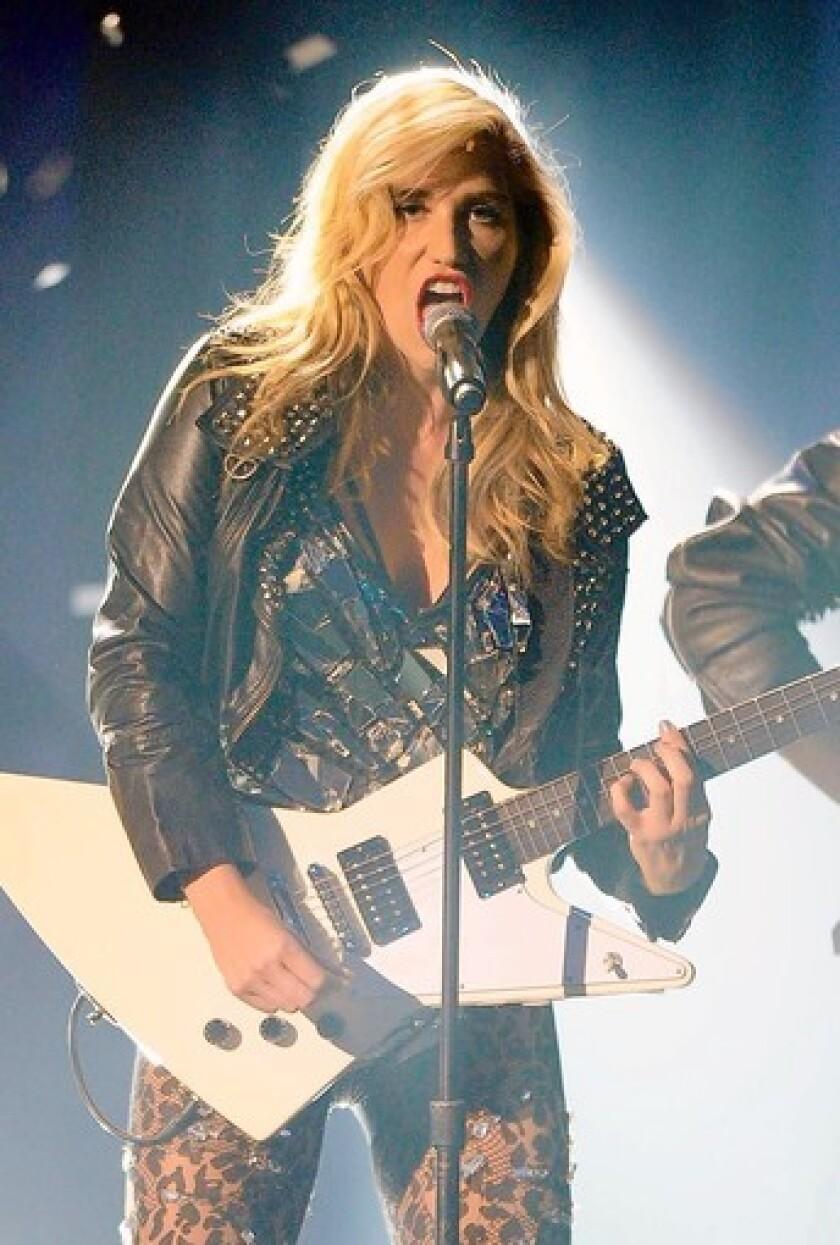 Kesha performs 2010 American Music Awards las year.