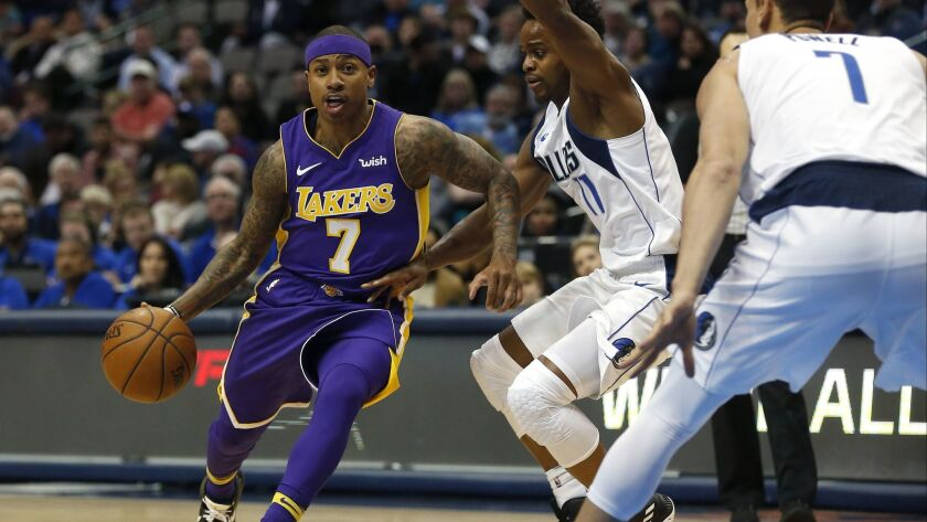 separation shoes 35ebd 962b1 Lakers! Breaking down the Isaiah Thomas trade - Los Angeles ...
