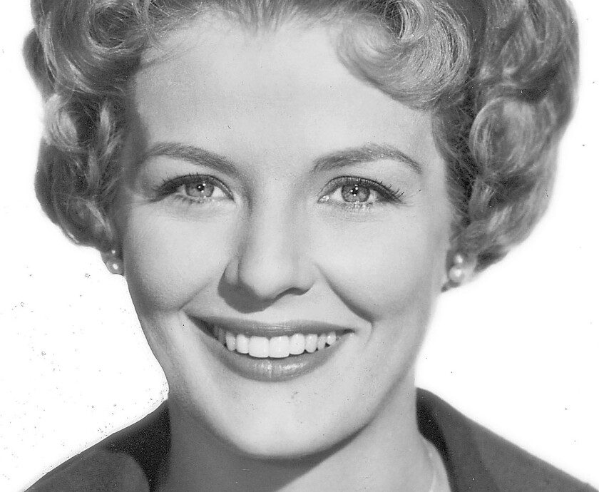 """Marjorie Lord played Danny Thomas' loyal wife on TV's """"Make Room for Daddy."""" She was also a philanthropist who supported the arts."""