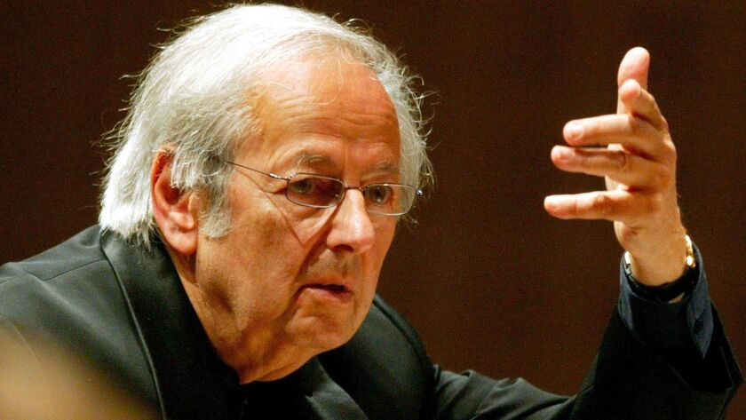 Andre Previn dies at 89, Lucerne, Switzerland - 01 Sep 2004