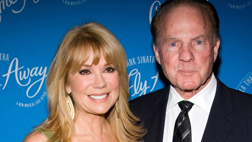Kathie Lee Gifford and Frank Gifford in New York in 2010.