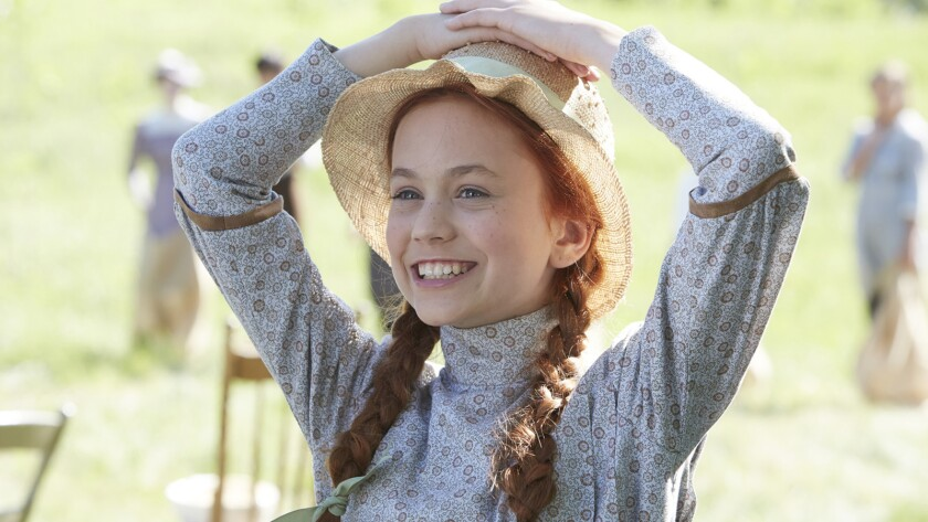 Anne of Green Gables - The Good Stars (Airdate: 11/23/2017) Pictured: Ella Ballentine as Anne Shirle
