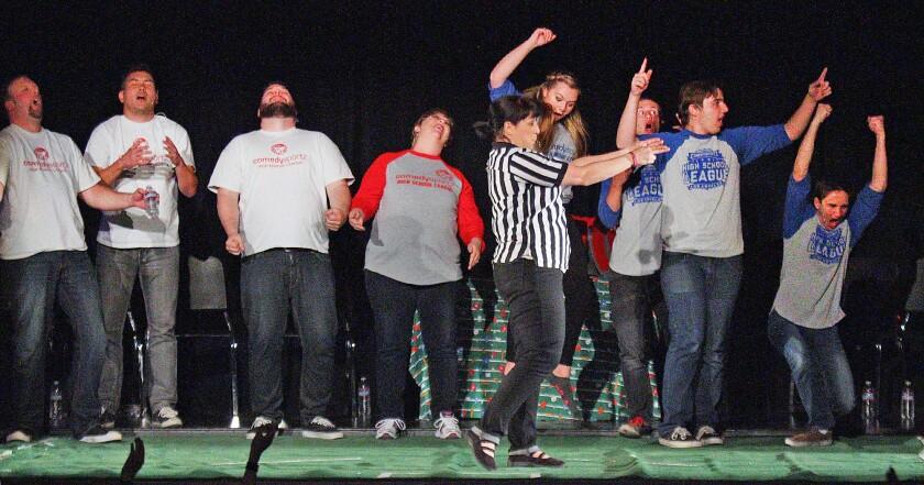 ComedySportz varsity vs. faculty improv comedy challenge