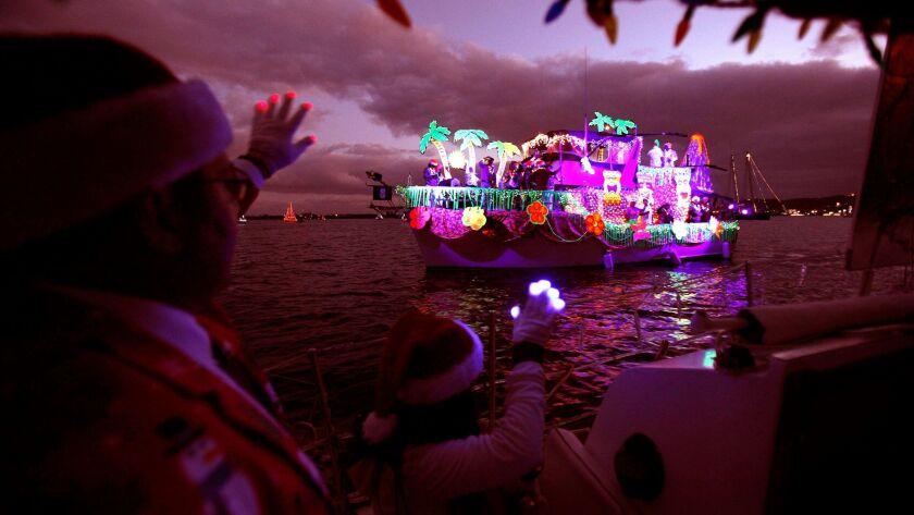 December 14, 2014 -- San  Diego Bay Parade of Lights