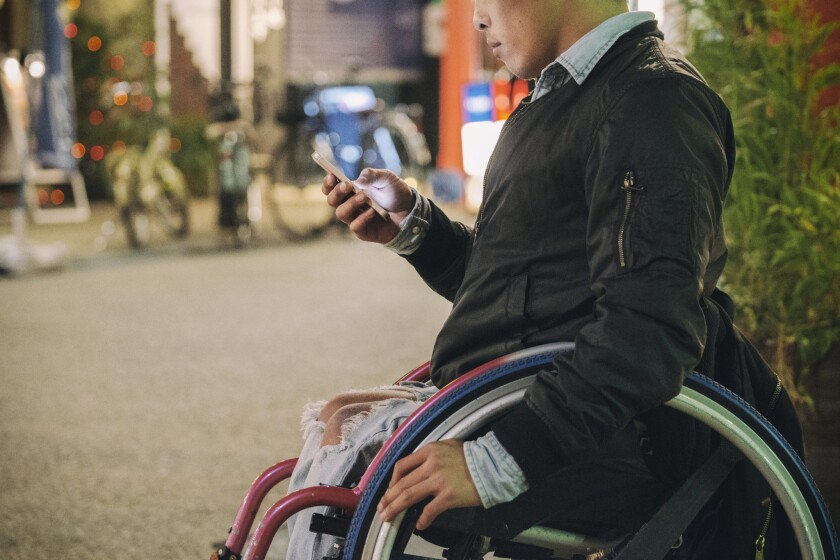 For travelers with disabilities, there are apps for a more personalized experience.