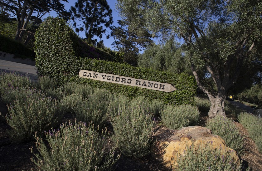 MONTECITO, CALIF. -- TUESDAY, JULY 24, 2018: The historic San Ysidro Ranch, a luxury hotel and resor
