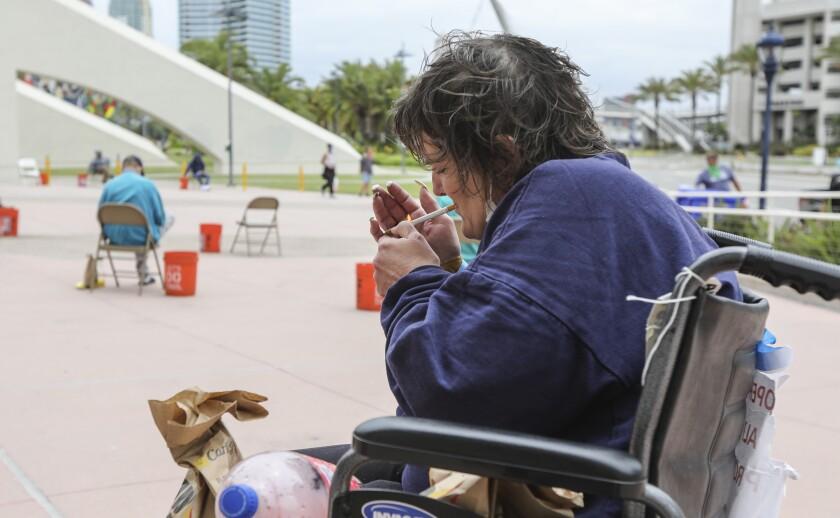 Convention Center homeless shelter