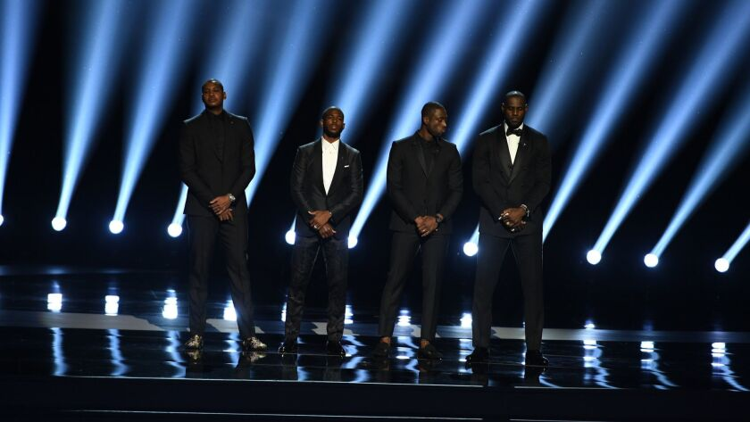 The ESPYS - July 13, 2016