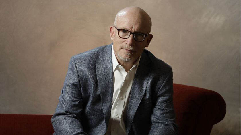 "Alex Gibney, director of ""The Inventor: Out for Blood in Silicon Valley,"" which is the latest project to explore the saga of Elizabeth Holmes."