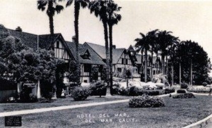 The Stratford Inn was renovated and renamed the Hotel Del Mar, attracting the rich and famous from the moment it opened its doors in 1926.