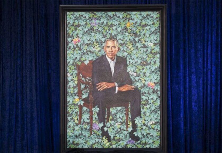 Los jazmines representan a Hawáii, la isla estadounidense en la que nació Obama en 1961, según explicó Riley a medios estadounidenses.