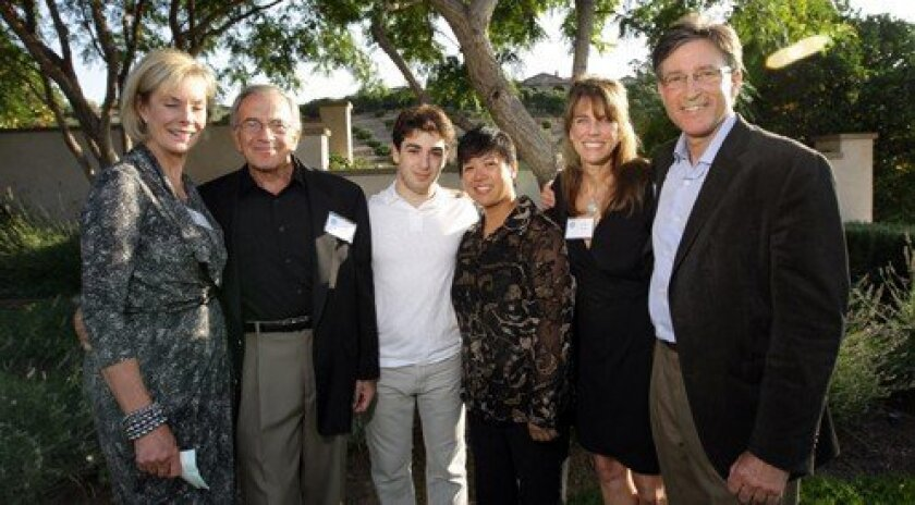 Kay Isaacson-Leibowitz, Harry Leibowitz,  Jourdan Urbach, Karen Beluso, Lynn Naylor