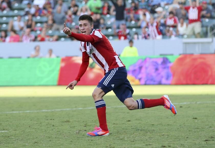 Jorge Villafaña recibe primer llamado a la selección de Estados Unidos.