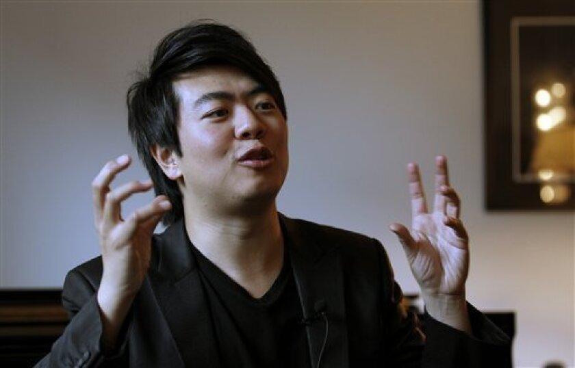 Pianist Lang Lang