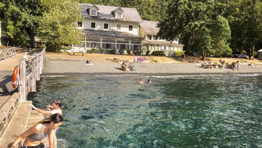 Lake Crescent Lodge has been a popular tourist destination since the 1920s, when it was known as Singer's Lake Crescent Tavern.