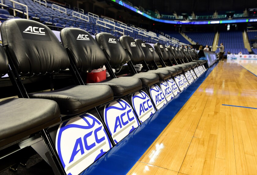The NCAA men's and women's basketball tournaments have been canceled because of concerns over the coronavirus.