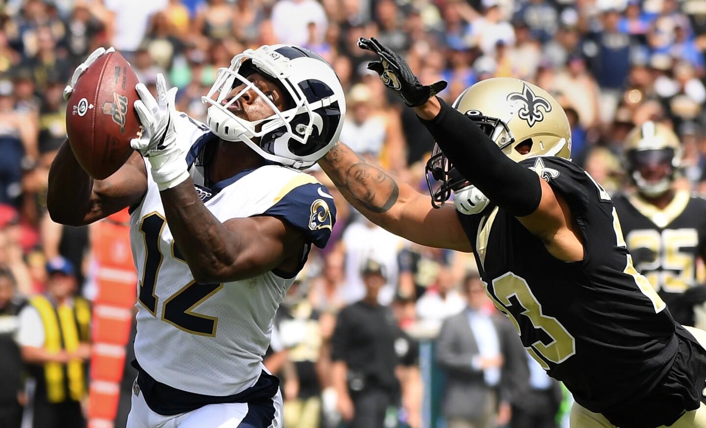 Photos: Los Angeles Rams vs. New Orleans Saints - Los Angeles Times