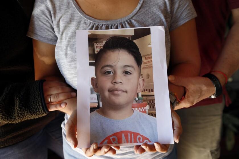 LOS ANGELES, CA DECEMBER 7, 2018: Mathew Torres, 10, of La Puente, CA passed away this week after