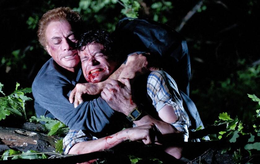"""Jean-Claude Van Damme, left, and Tom Everett Scott in """"Enemies Closer."""""""