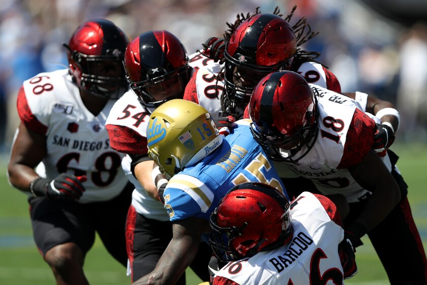 As much as fans would like to see earlier kickoff times for San Diego State football games, kick time aren't expected to change much with the Mountain West's upcoming TV deal.