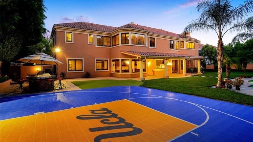 Steve Alford's Calabasas home