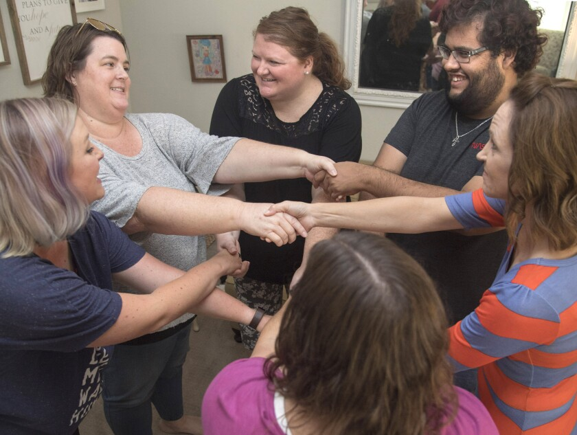 Enneagram gathering in Riverside