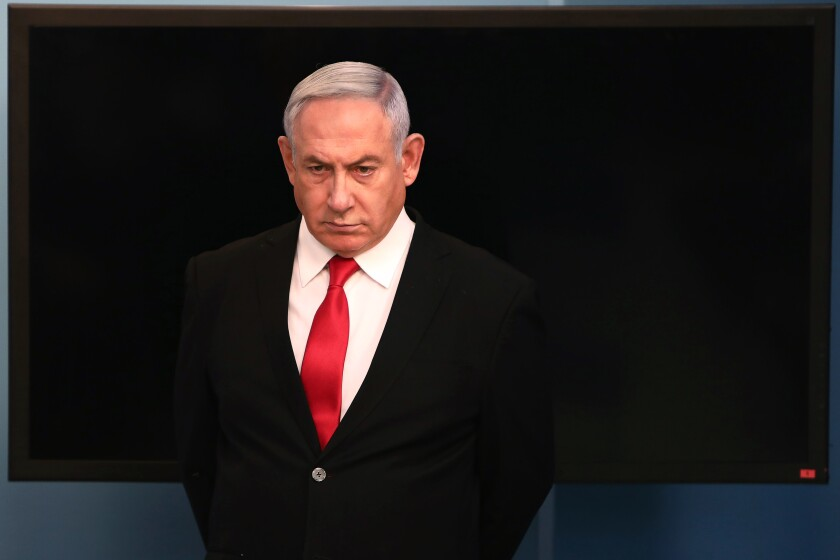 Israeli Prime Minister Benjamin Netanyahu, shown March 14 in Jerusalem.