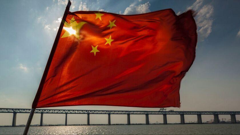 Shanghai-Nantong Yangtze River Bridge, China - 16 May 2018