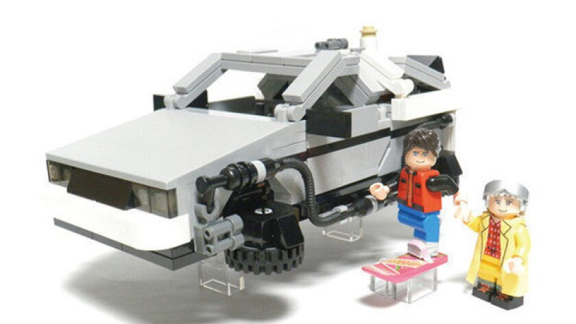 'Back to the Future' Lego set coming soon