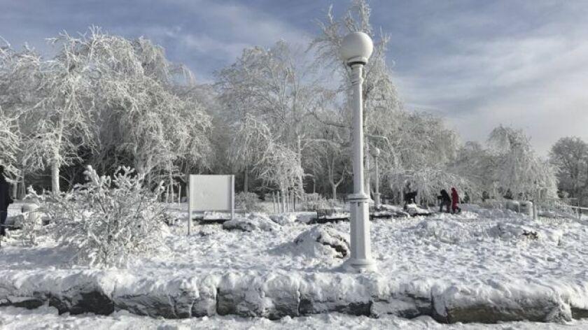 Ciudades en el noreste del país como Boston se espera que se vean afectadas por intensas tormentas de nieve que pueden causar interrupciones en las comunicaciones aéreas así como posibles cortes en el suministro de electricidad.